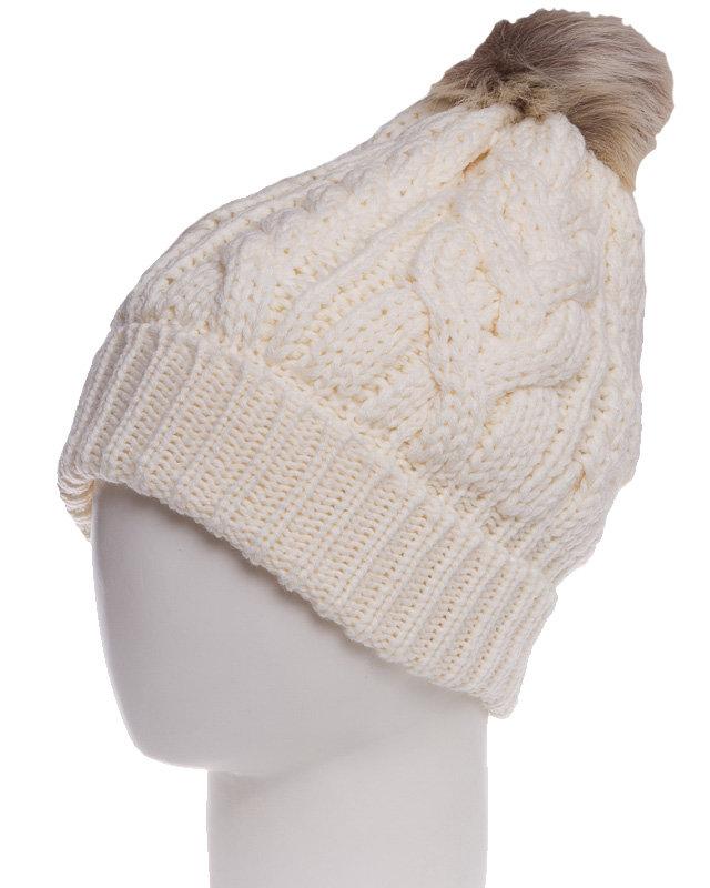 91935461f30e Зимняя шапка Ленне Rhea 14391-100 молочного цвета для девочек школьного  возраста купить ...